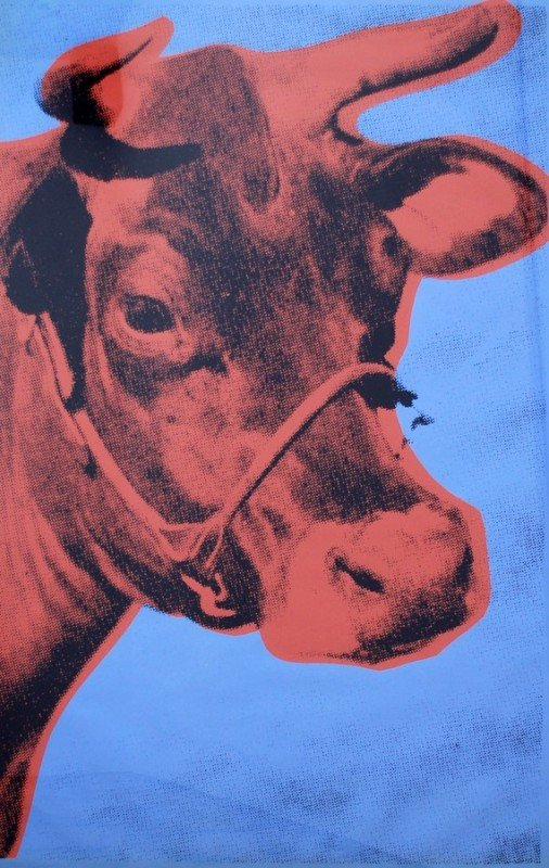 59: Andy Warhol Cow Wallpaper