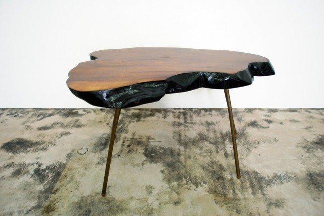 186: Carl Aubock Table - 10
