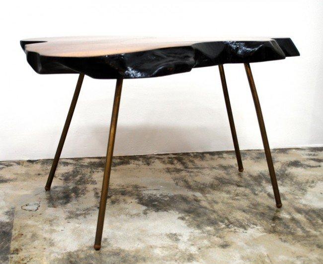 186: Carl Aubock Table - 9