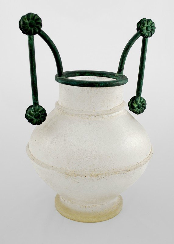 14: Large Murano Urn by Archimede Seguso