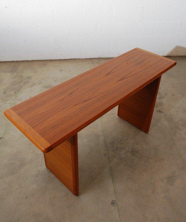 8: Danish Modern Console Table - 3