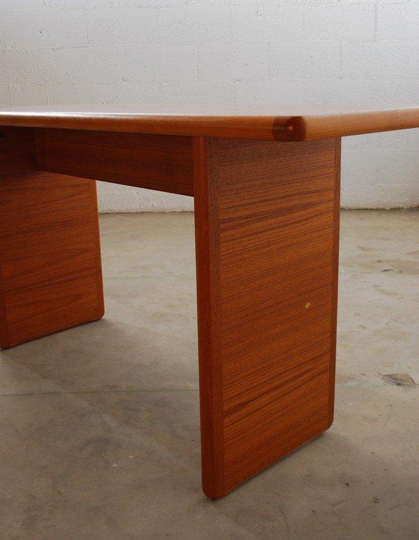 8: Danish Modern Console Table - 4