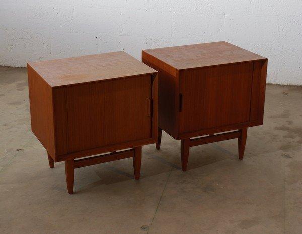9: Pair of Danish Modern Nightstands