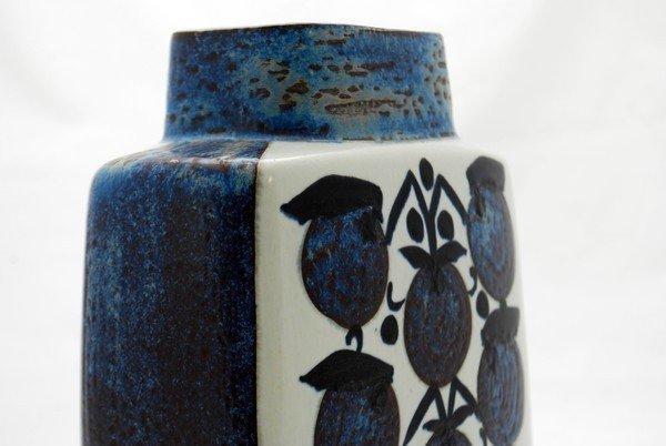 19: Royal Copenhagen Faience Vase - 4
