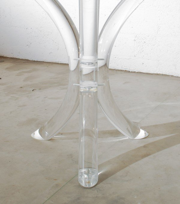 58: Lucite Dining Table, Manner of Charles Hollis Jones - 5