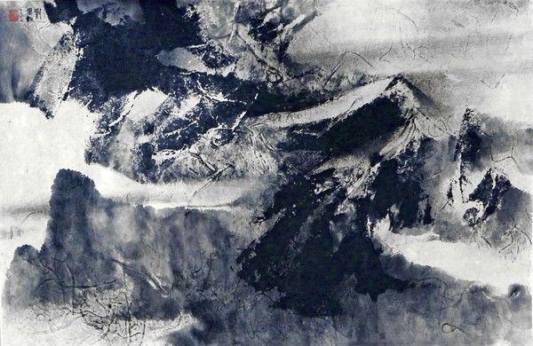 Large Liu Guosong Painting