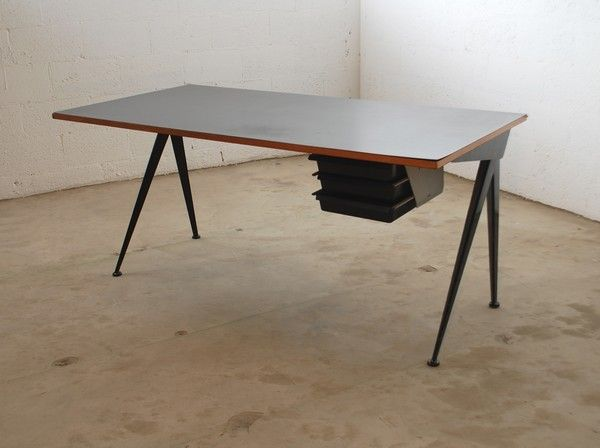 Rare Jean Prouve Compass Desk