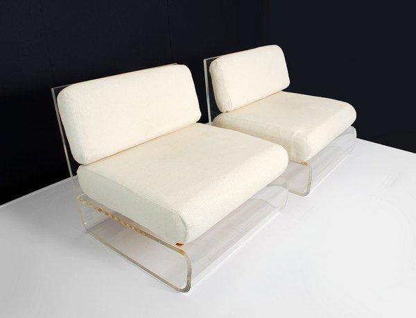 10: Gary Gutterman Lounge Chairs, Att.