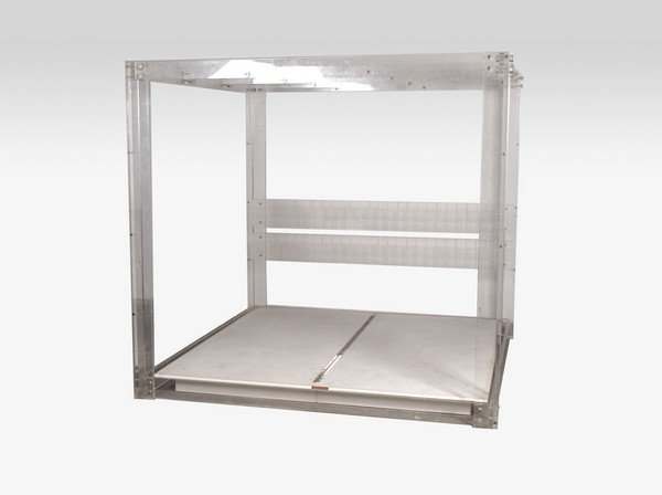 lucite bed, manner of charles hollis jones
