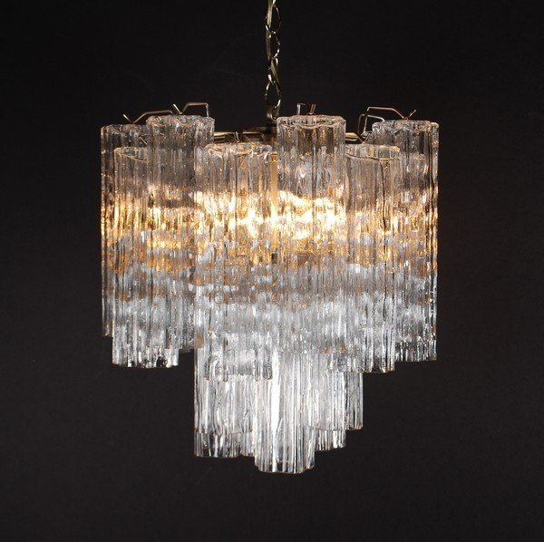 16: Camer Glass Chandelier by Venini