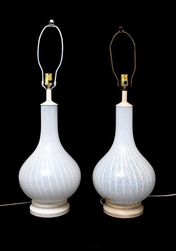 18: Pair of Murano Lamps