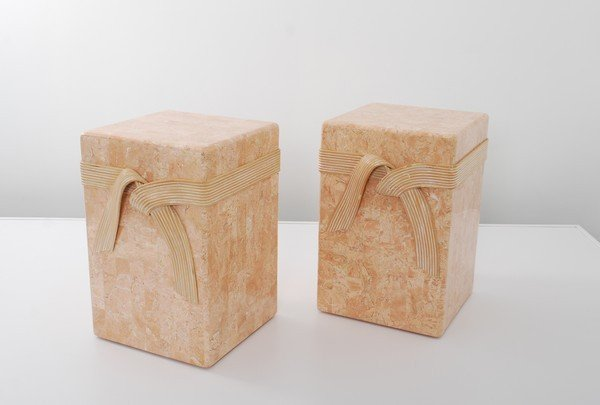 19: Pair of Maitland Smith End Tables