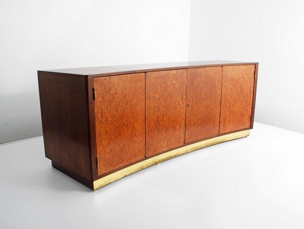 21: Edward Wormley Curved Front Cabinet