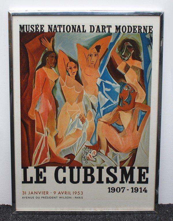 """57: Pablo Picasso Exhibition Poster, """"Le Cubisme"""", 1953 - 2"""