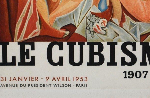 """57: Pablo Picasso Exhibition Poster, """"Le Cubisme"""", 1953 - 4"""