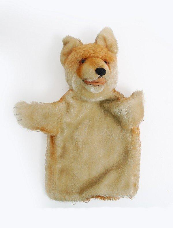 385: 6 Vintage Steiff Hand Puppets, Rabbit - 6