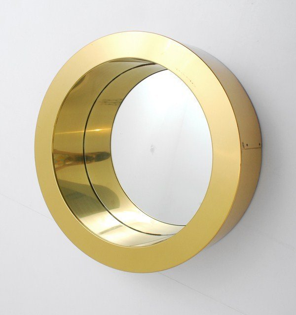 """14: """"Porthole"""" Mirror by Curtis Jere"""