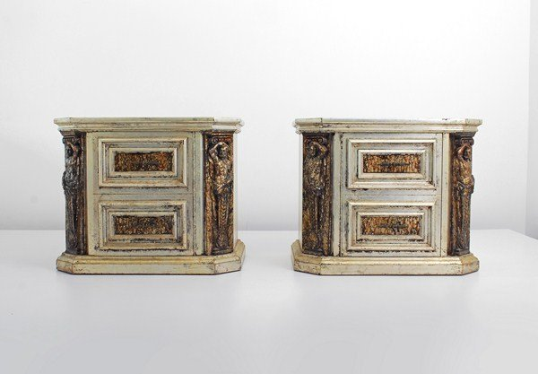 19: Pair of Phyllis Morris Cabinets