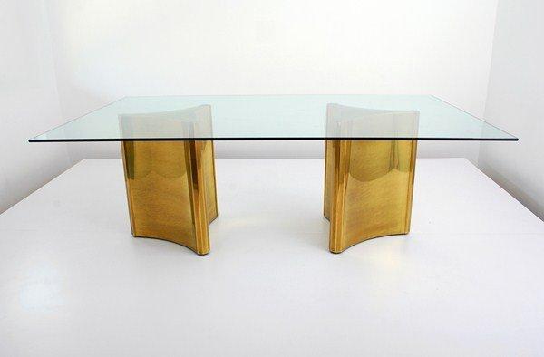 28: Mastercraft Column Dining Table - 9