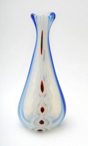 "Large ""Murrina"" Vase By Anzolo Fuga"