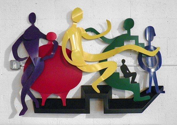 99: Wall Sculpture by Raymond Karpuska