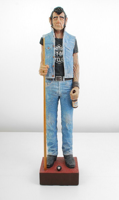 101: Life-size Sculpture by Jack Dowd