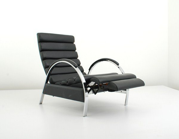 107: Reclining Lounge Chair by DIA