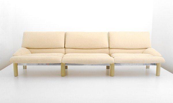 112: Large Saporiti Italian Sofa