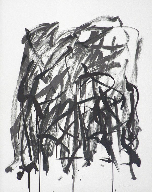 130: Abstract Lithograph by Joan Mitchell