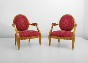Pair Of Donghia Chairs