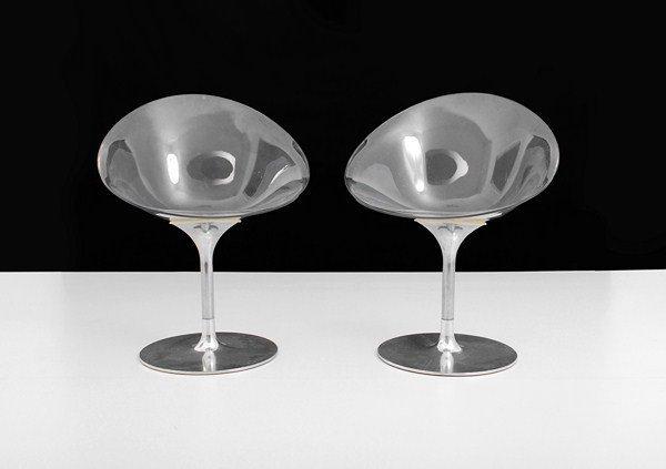 """189: Pair of Philippe Starck """"Eros"""" Chairs"""