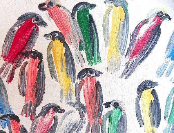 230: Original Painting by Hunt Slonem - 2
