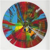 """249: Damien Hirst """"Spin Painting"""""""