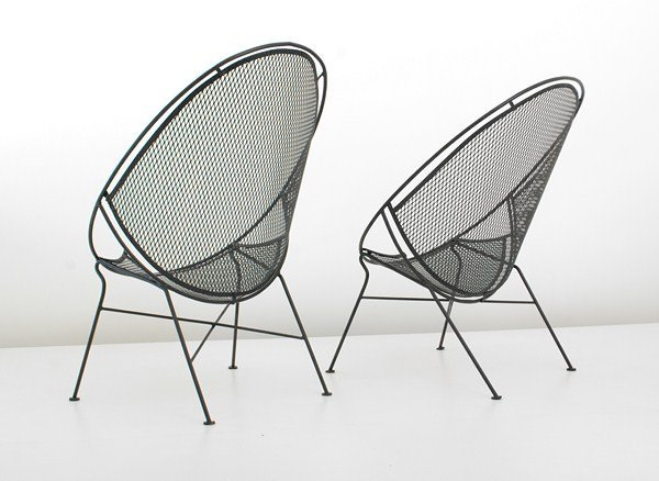 469: Rare Pair of Salterini Chairs