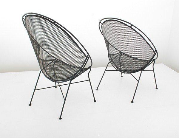 469: Rare Pair of Salterini Chairs - 3