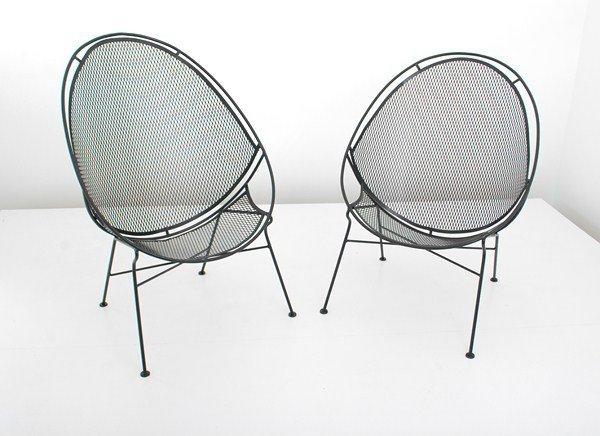 469: Rare Pair of Salterini Chairs - 4