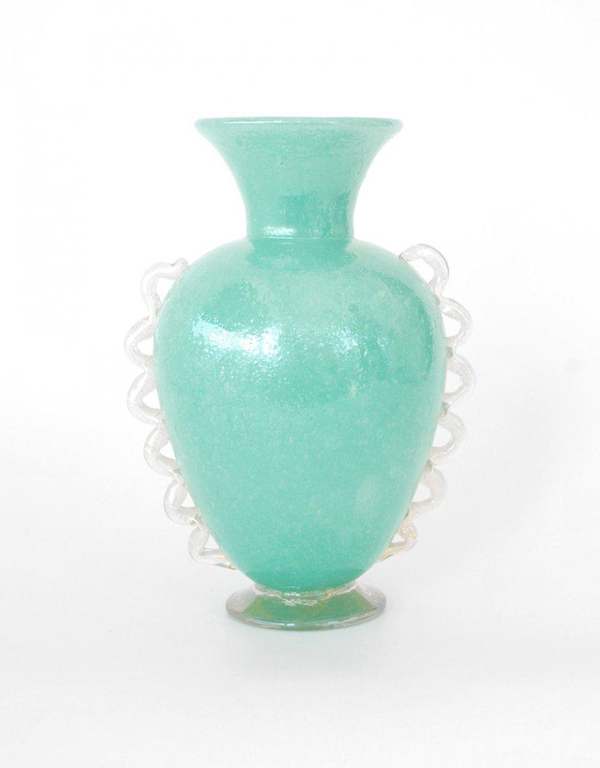 """338A: Rare """"Pulegoso"""" Vase by Napoleone Martinuzzi"""