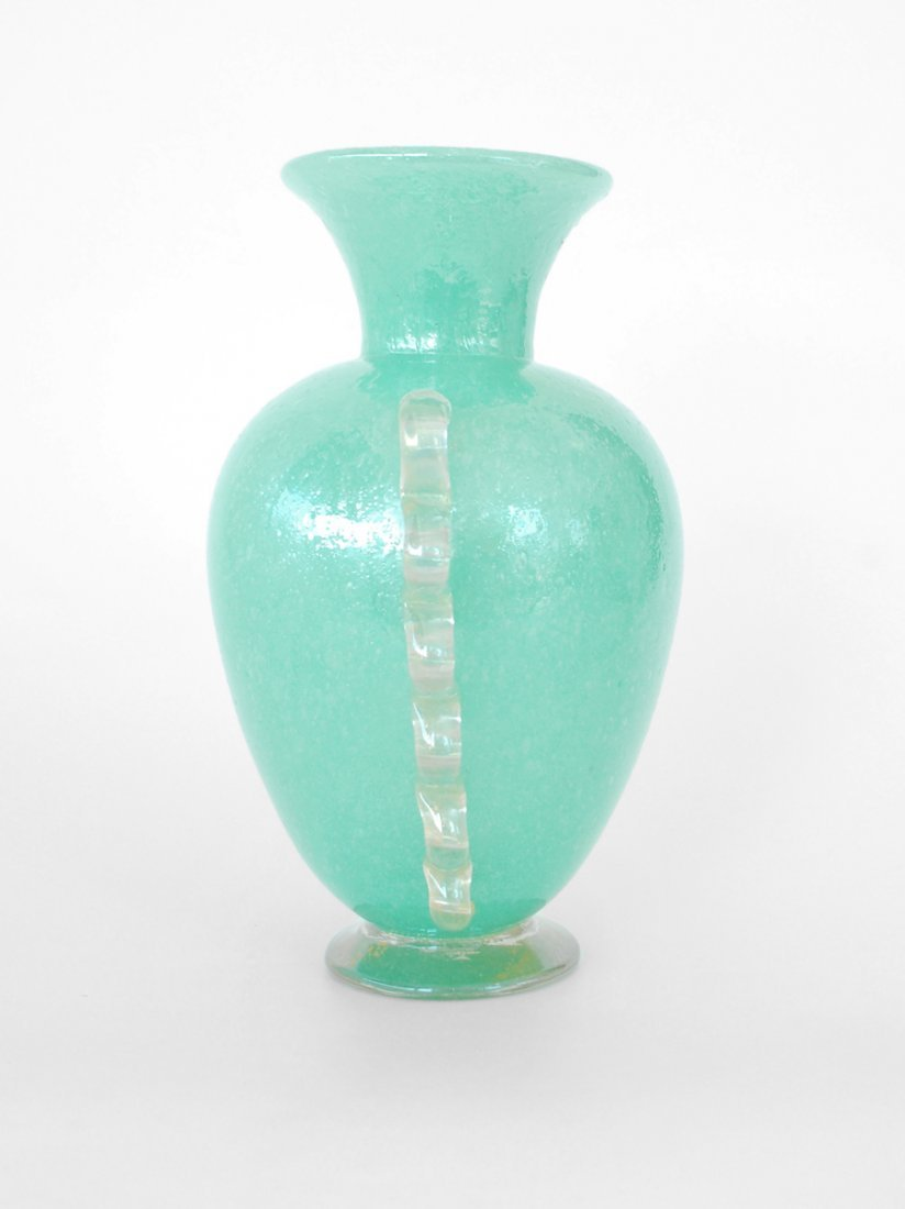 """338A: Rare """"Pulegoso"""" Vase by Napoleone Martinuzzi - 6"""