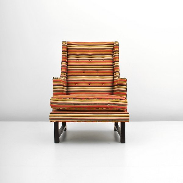 3: Edward Wormley Lounge Chair
