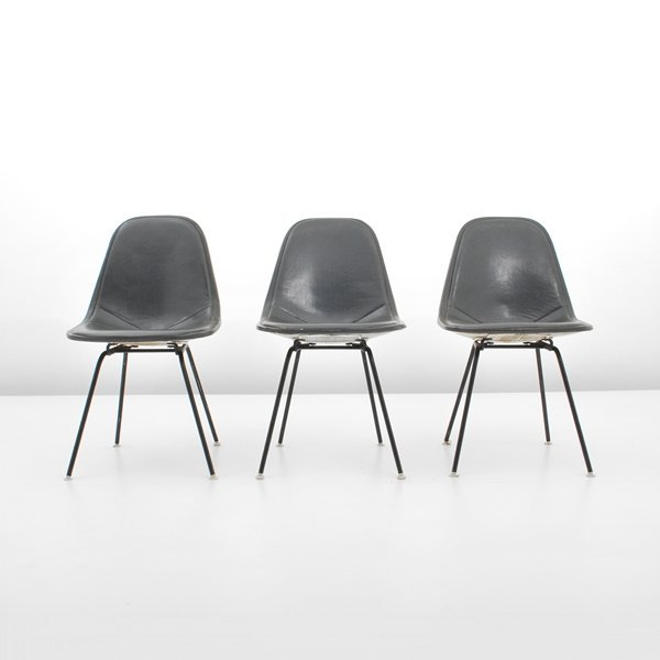 97: Charles & Ray Eames, Set of 3 Chairs