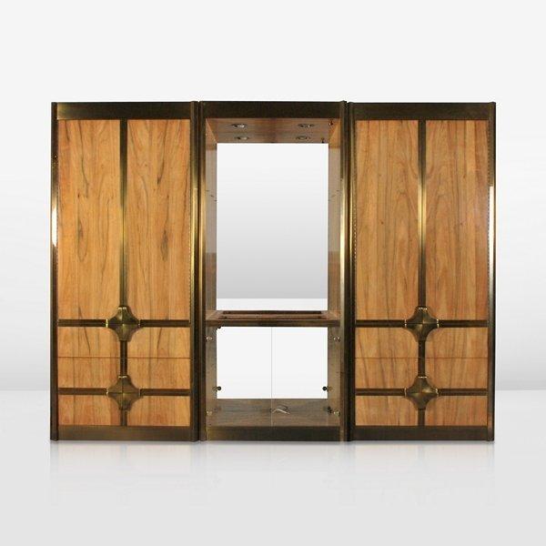 185: Pair of Mastercraft Cabinets