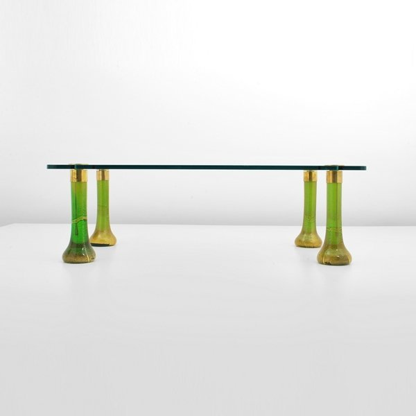 191: Fine Murano Cocktail Table