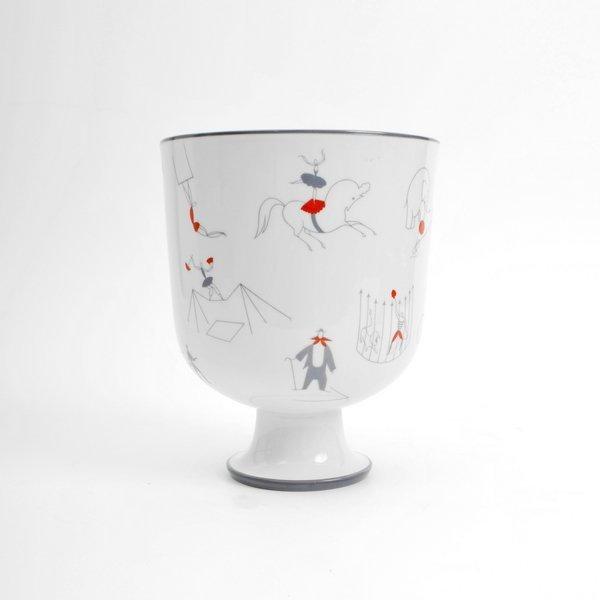 """196: Gio Ponti """"Il Circo"""" Vase"""