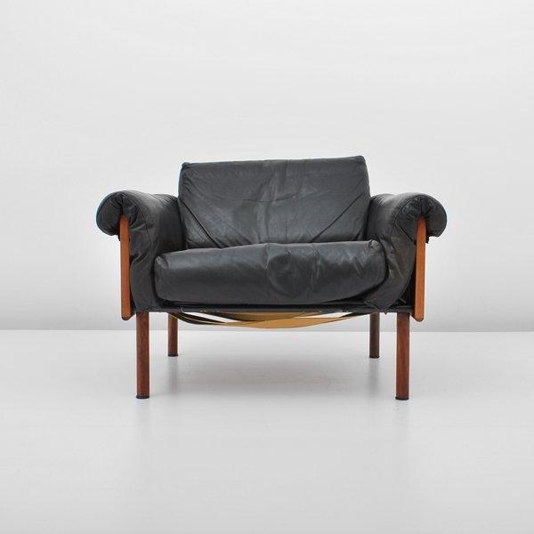360: Yrjo Kukkapuro Rosewood Lounge Chair