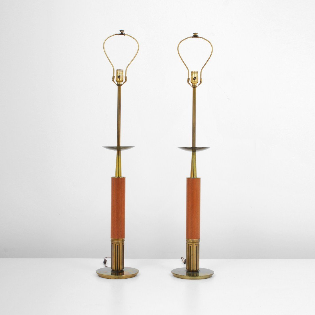 Pair of stiffel lamps tommi parzinger