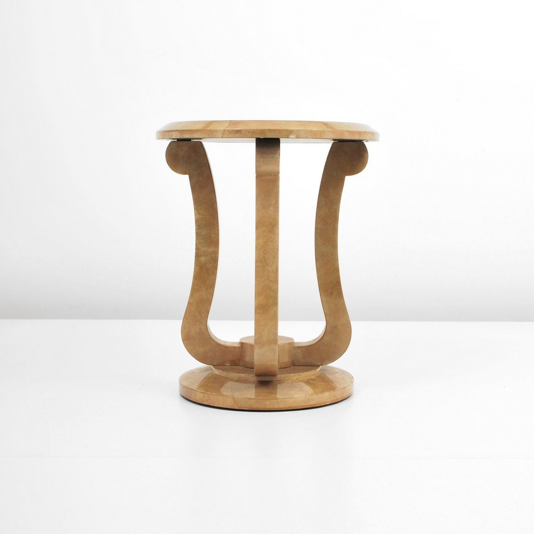Enrique Garcez Goat Skin Occasional Table