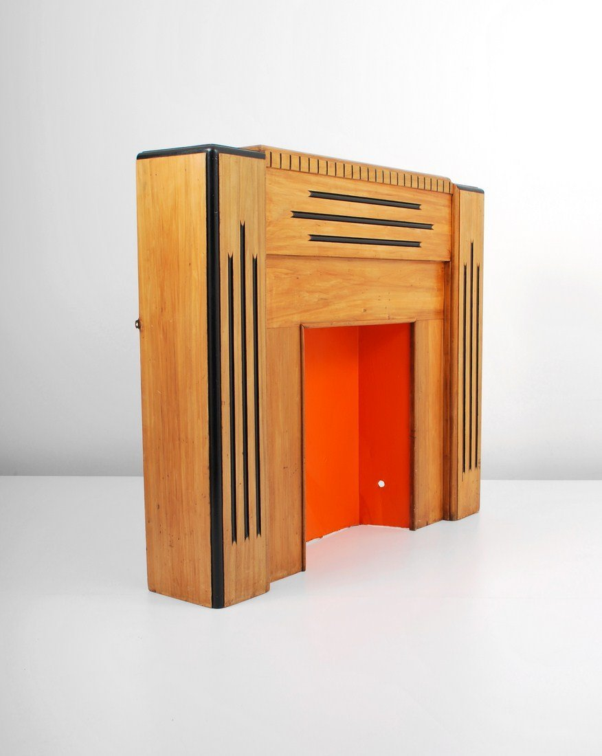 Art Deco Fireplace Mantel - 2