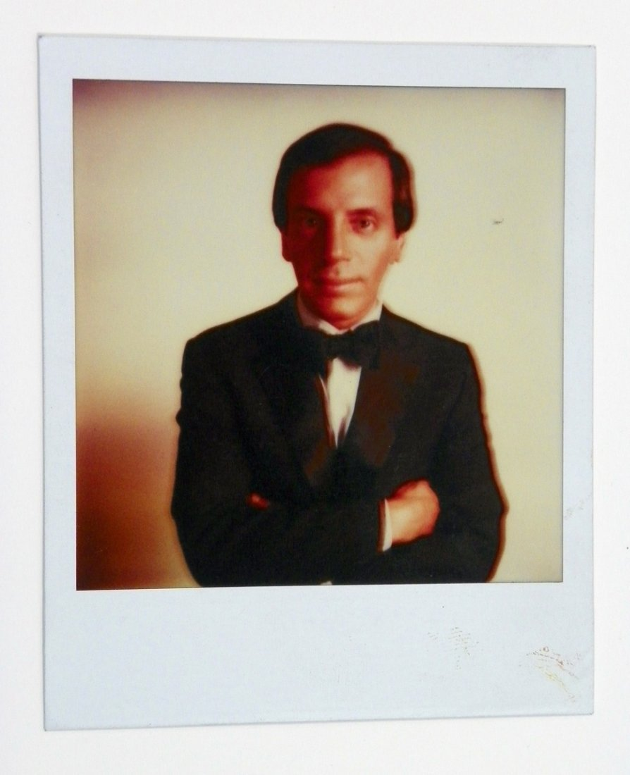 1: Andy Warhol Polaroid; Signed Interview Magazine +