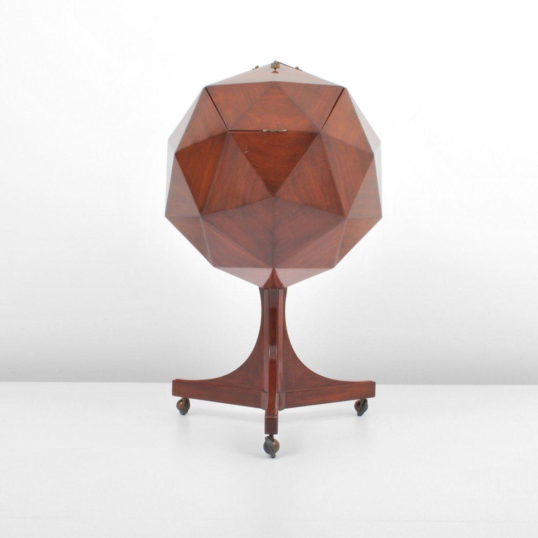 153: Multifaceted Sphere Bar, Ico Parisi