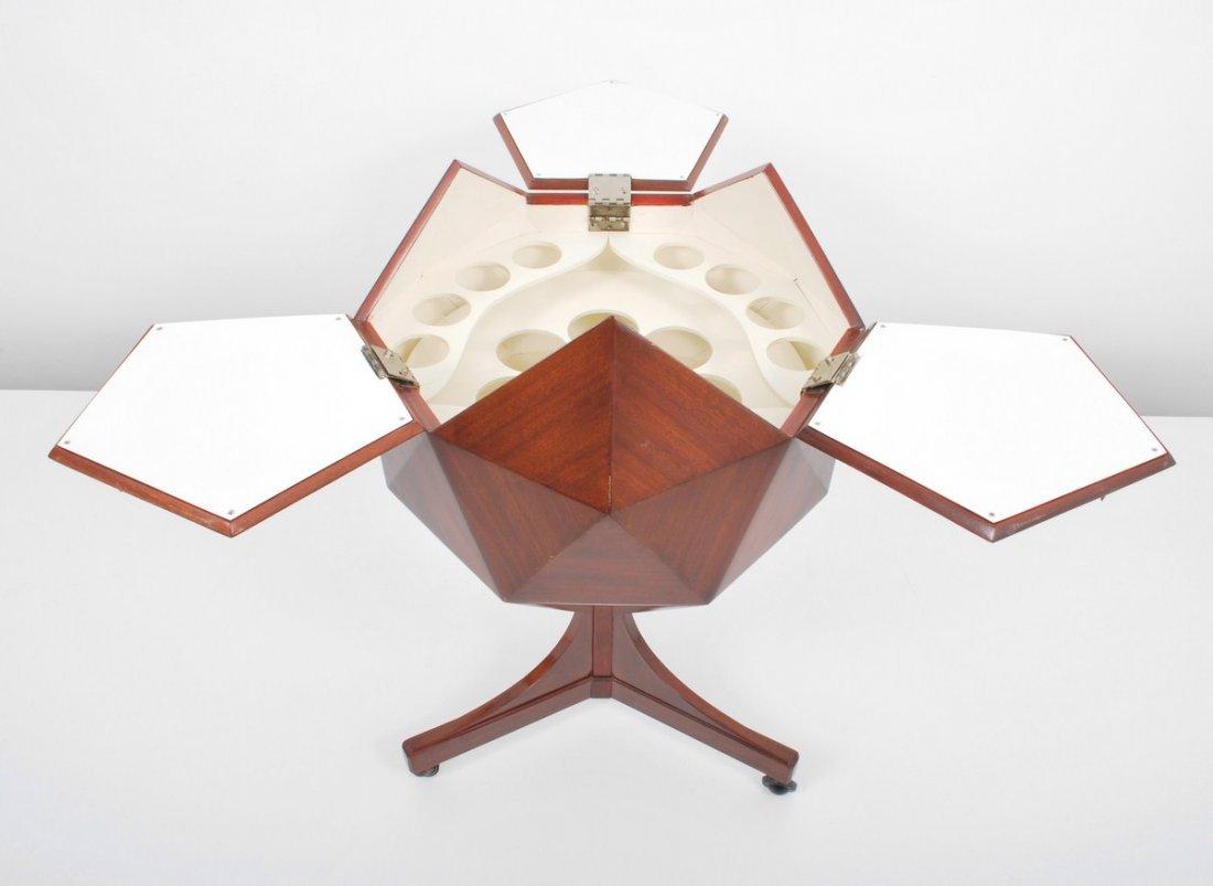 153: Multifaceted Sphere Bar, Ico Parisi - 3